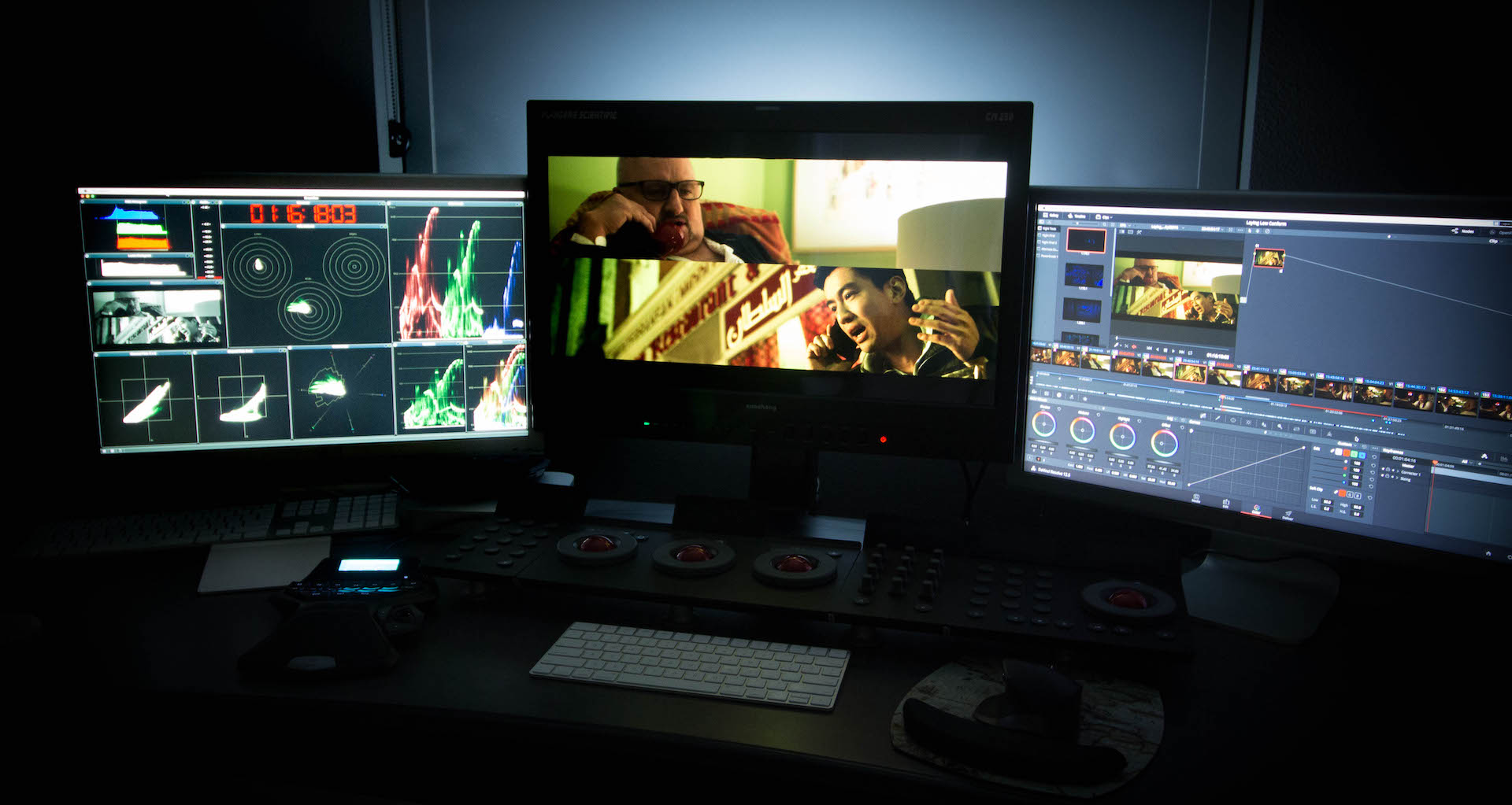 color correction suite, patrick inhofer